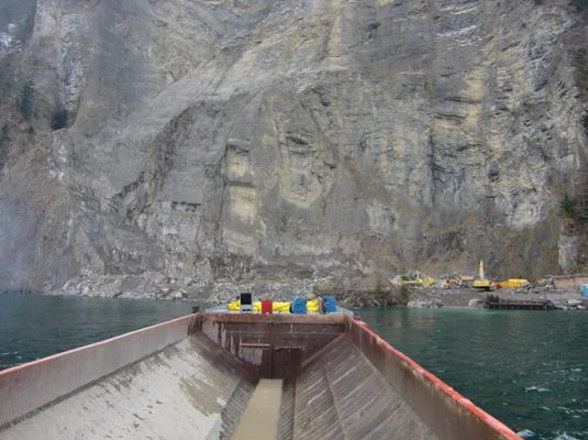 Räumung Steinbruch Obermatt mit LS Hai
