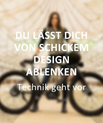 Fehler beim e-Bike Kauf: Du lässt dich von schickem Design ablenken