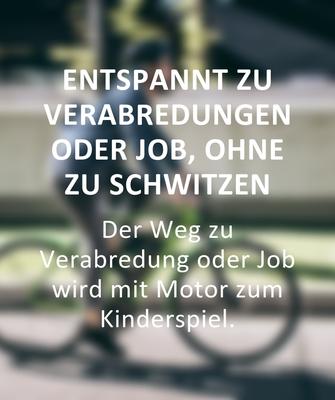 Gründe für den Kauf eines e-Bikes: Entspannt zum Job ohne zu Schwitzen