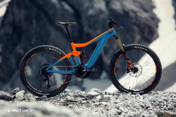 Das neue Giant Trance SX e-Mountainbike