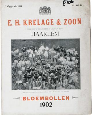 Tulpenkatalog von E.H. Krelage