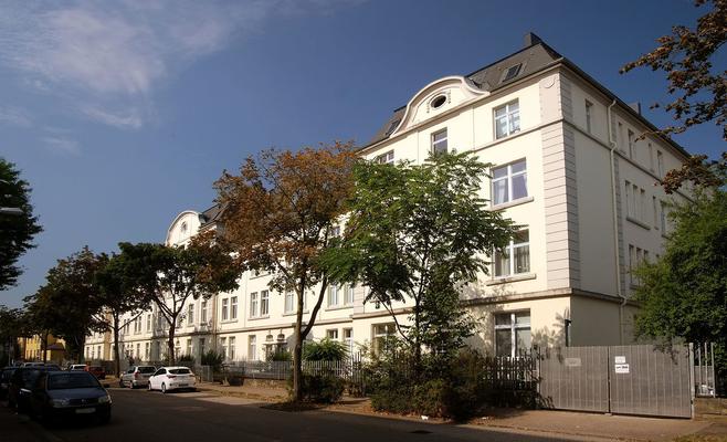 Polizeikavallerie-Mannschaftsgebäude von 1914