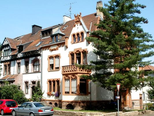 Dreivillenhaus von 1900