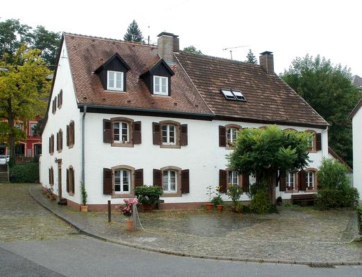 Wohnhaus aus dem frühen 18. Jahrhundert