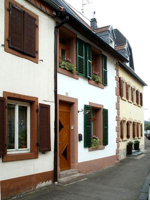Wohnhäuser um 1750