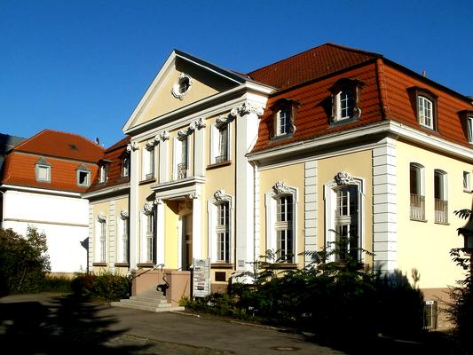 """Logenhaus der Freimaurerloge """"zur Stärke und Schönheit"""" von 1914"""