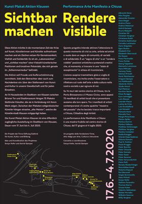 Kunst Plakat Aktion Klausen