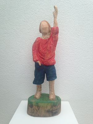 Kleiner Junge (Tuja, 65 cm, 2016)