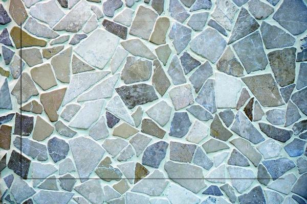 Splitterstein, Splittergestein oder Mosaiksteine - Wandgestaltung mit Steinen von GERZEN wand-design