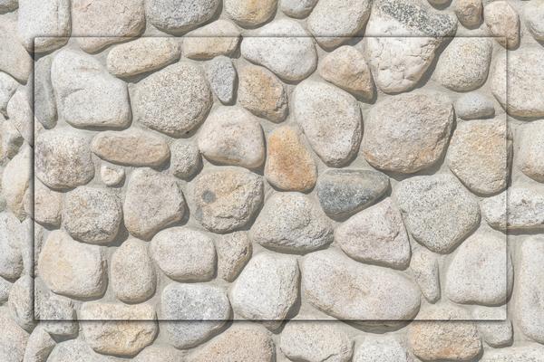 Natursteine, Flusssteine, Kunststeine, Betonsteine für die Wände - Wandgestaltung mit Steinen von GERZEN wand-design