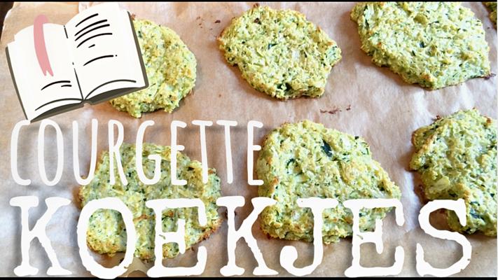 courgette koekjes ovenhapjes courgette recept