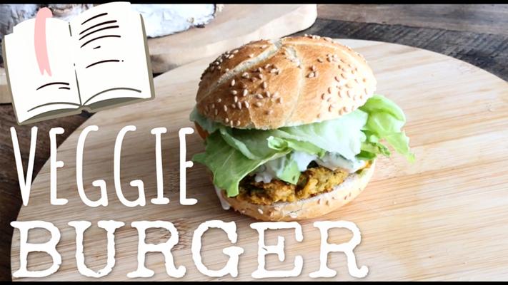 Veggie Burger recept zelf vegetarische hamburger maken