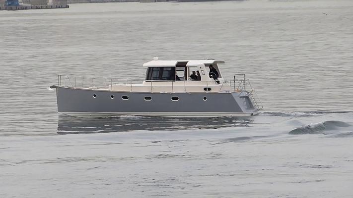 Motorboot für den Langfahrt-Bereich