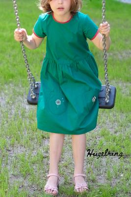 ... Kleid LISABETH mit Stickereien, von @huegelring
