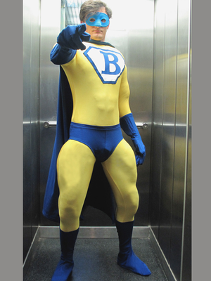 Bupre, Superheld- Walking-Act