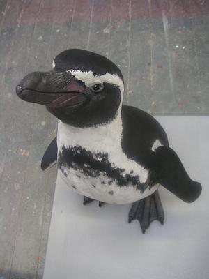 Dunhill, Pinguin-Dummy, lebensgroß