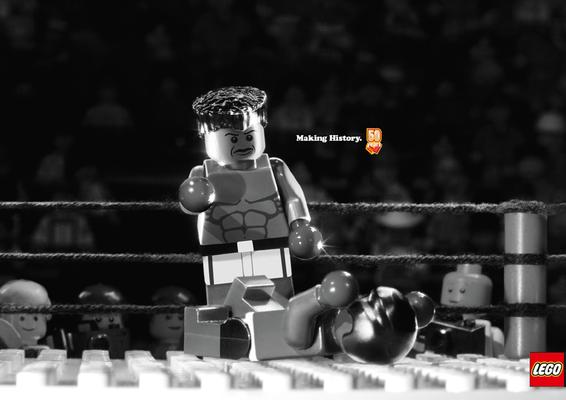 Lego- Boxkampf