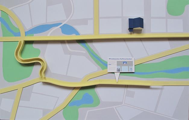 R&V Bank, Maps- Ergebnis unter -> Film sichtbar