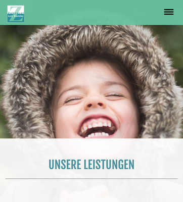 Website Lutz Kienzler Ansicht MOBIL