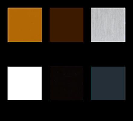 Folgende sechs Farbtöne stehen zur kostenlosen Auswahl.