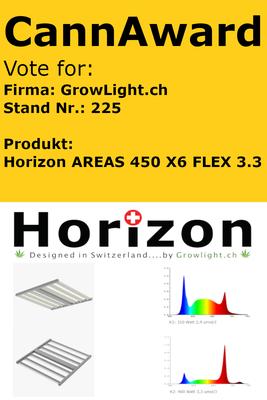 Led Horizon Swiss Cannatrade Cannacup