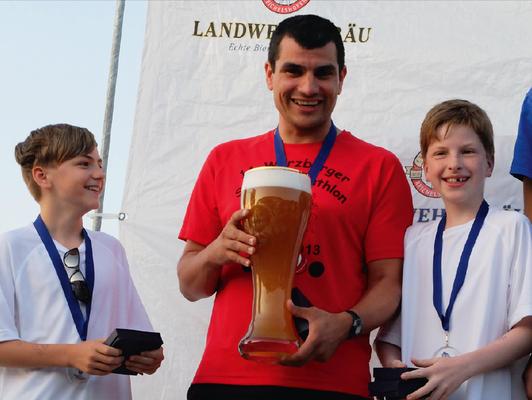 Erstes Rennen beim Virnsberger Sommerbiathlon