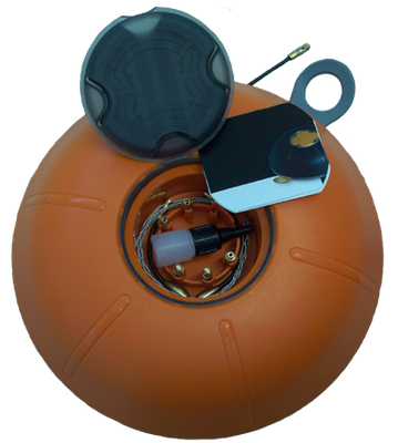 Aiguille 3mm sous carter forme boule