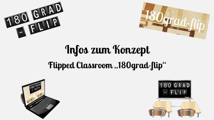 """Infos zum Flipped Classroom """"180grad-flip"""""""