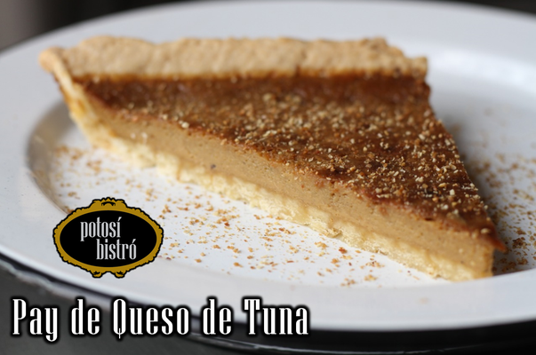 Pay de Queso de Tuna