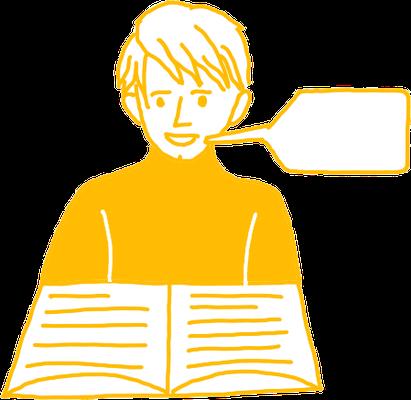 Icon Sprachmittlung