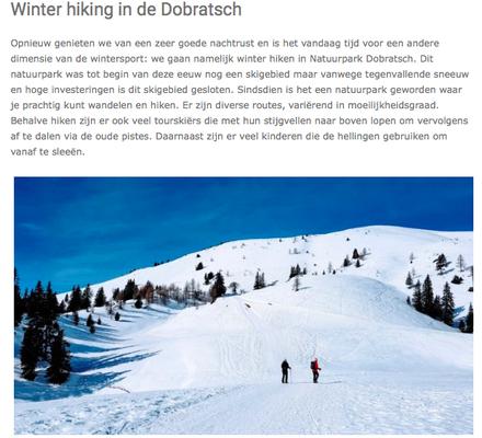 Schneeschuh Wandern - Naturpark Dobratsch - Snow Republic (März 2019)