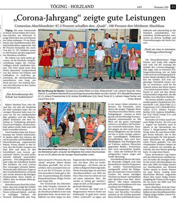 24.07.2020 - Corona-Jahrgang zeigt gute Leistungen