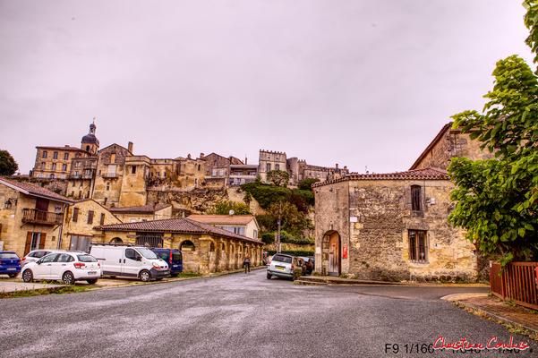 La ville basse de Bourg-sur-Gironde, son lavoir. Samedi 26 septembre 2020. Photographie HDR © Christian Coulais