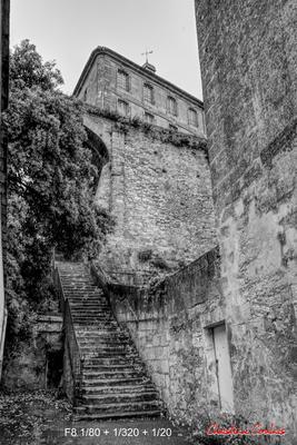 Ville basse et rempart, Bourg-sur-Gironde, samedi 26 septembre 2020. Photographie HDR © Christian Coulais