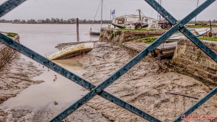 Le port de Bourg-sur-Gironde, samedi 26 septembre 2020. Photographie HDR © Christian Coulais
