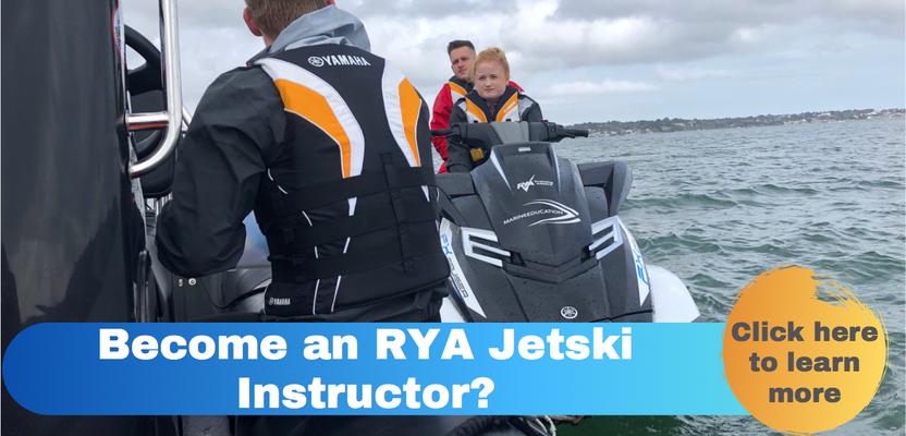Become an RYA Jetski Instructor, jetski instructor course