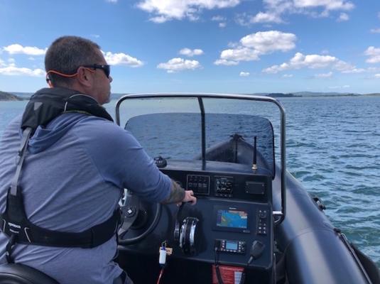 RYA Powerboat Instructor Skills Assessment ©www.marine-education.co.uk