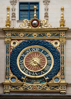 Die Goldene Uhr von Rouen