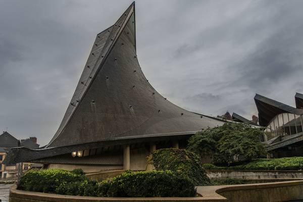 Evangel Kirche in Rouen