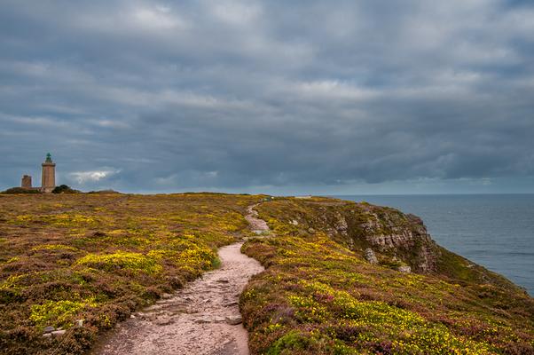 Wanderweg am Cap Frehel