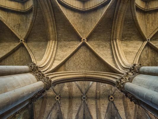 In der Kathedrale von Reims
