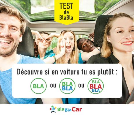 BlablaCar advertisement