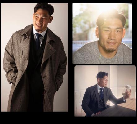 TRYFE JAPAN  広告 中村亮土(ラグビー日本代表)   ヘアメイク高野雄一