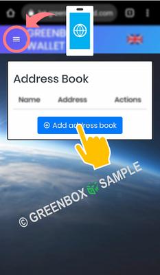 Green Box Wallet - transfer