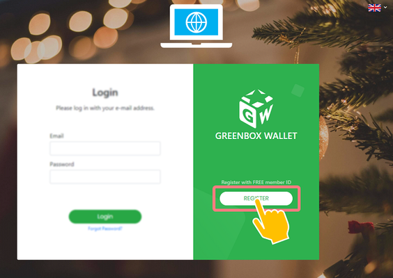 Green Box Wallet - Registration