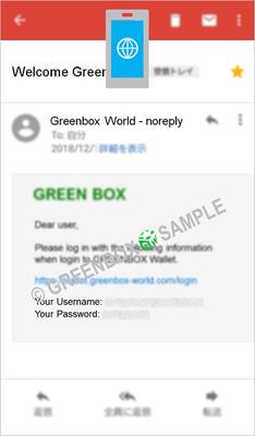 Green Box Wallet 作成