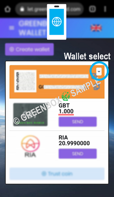 How to Green Box Wallet - CP exchange