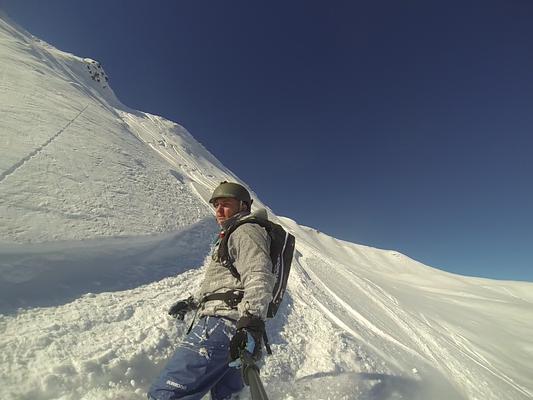 ralph, Männlichen Gipfelabfahrt 01.12.2013