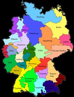 Katholische Bistümer in Deutschland