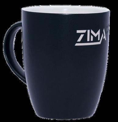Die ZIMA- Tasse. Unverwüstlich graviert.